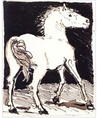 自然的故事-小马