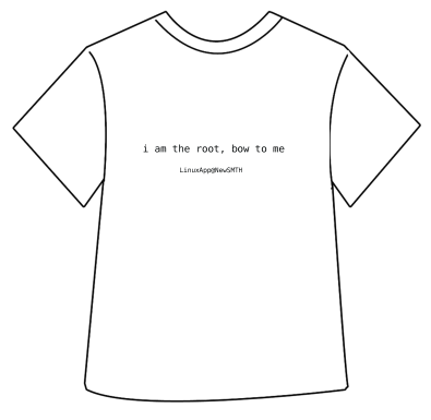 linux tshirt